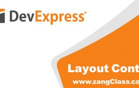 آموزش Devexpress کنترل Layout Control