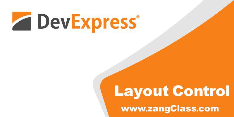 آموزش Devexpress کنترل Layout Control